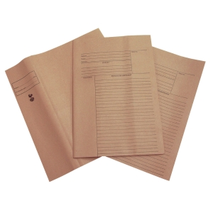 COCK BROWN A4 KRAFT PAPER
