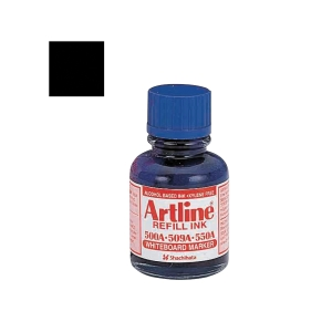 ARTLINE WHITEBOARD BLACK MARKER REFILL INK 20ML