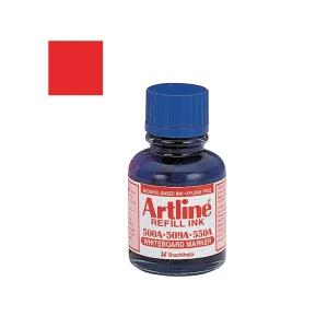 Artline Whiteboard Marker Refill Ink 20ml Red
