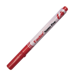 Faster Name Fine Pen Red
