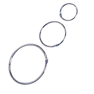 Adoro Book Ring Metal 25mm - Pack  of 10