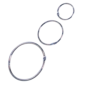 Adoro Book Ring Metal 35mm - Pack of 10