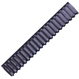 HATA BLACK PLASTIC COMBS 32\MM - PACK OF 10