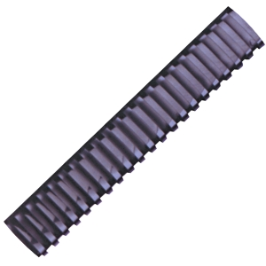 HATA BLACK PLASTIC COMBS 50MM - PACK OF 10