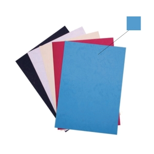 BLUE BINDING COVER 230GSM - PACK OF 100 SHEETS