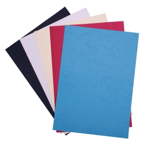 RED BINDING COVER 230GSM - PACK OF 100 SHEETS