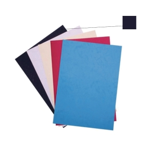 BLACK BINDING COVER 230GSM - PACK OF 100 SHEETS