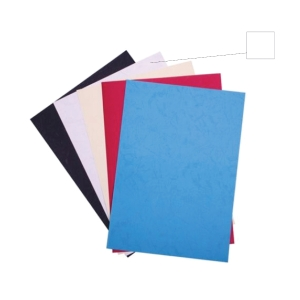 WHITE BINDING COVER 230GSM - PACK OF 100 SHEETS
