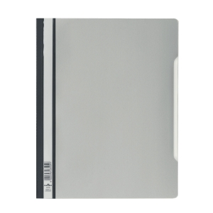 Durable Clear View A4 Folder Grey