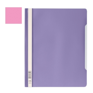 DURABLE CLEAR VIEW PINK A4 FOLDER