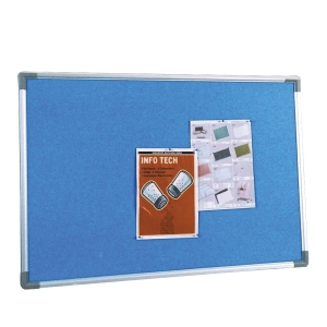 WRITEBEST FOAM BLUE NOTICE BOARD 90 X 120CM