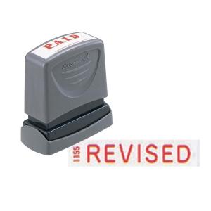 XSTAMPER VX SELF INKING RED REVISED STAMP