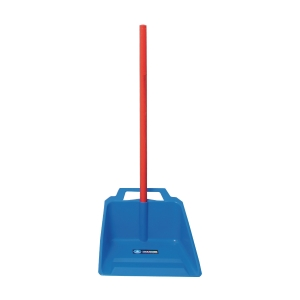 ASSORTED COLOUR DUSTER BIN WITH HANDLE