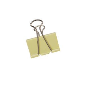 ASSORTED COLOUR BINDER CLIPS 25MM - PACK OF 48