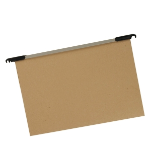 CONTINUOUS BROWN FILING POCKET - 2 X 25 SHEETS