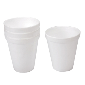 White Foam Cup 80Z Pack of 25