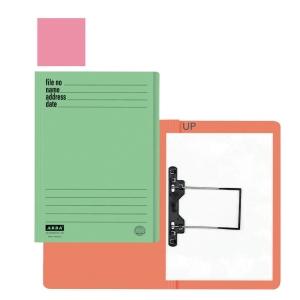 ABBA 102UP MANILA PINK CARD FOLDER