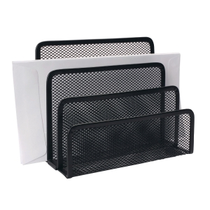 MESH METAL BLACK DESK SORTER
