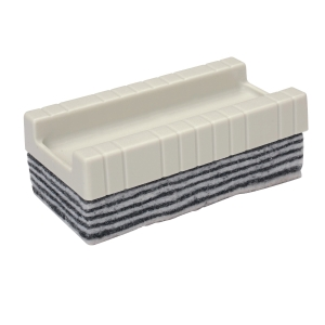 WRITEBEST PEEL OFF WHITE/BLACK WHITEBOARD ERASER 35 X 95 X 51MM