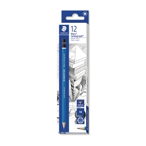 Staedtler Mars Lumograph 100 Pencil 5B Pack of 12
