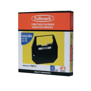 FULLMARK NAKAJIMA COMPATIBLE BLACK TYPEWRITER RIBBON
