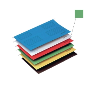 BANTEX GRASS GREEN A4 SUSPENSION FILE - PACK OF 25