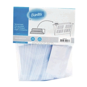 BANTEX SUSPENSION FILE TAB AND INSERT - PACK OF 25
