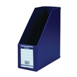 BANTEX COLLAPSIBLE BLUE A4 MAGAZINE FILE 12CM