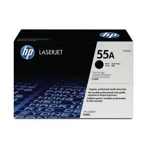 HP CE255A LaserJet Toner Cartridge (55A) - Black