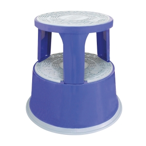 SUREMARK SQ62692 STEP-STOOL ASSORTED WITH CASTORS - 150KG CAPACITY