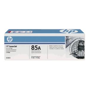 HP CE285A LaserJet Toner Cartridge (85A) - Black