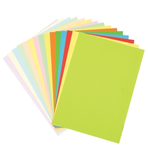 LEMON COLOUR A4 PAPER 80GSM - REAM OF 450 SHEETS