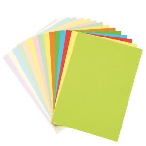 YELLOW COLOUR A4 PAPER 80G - REAM OF 450 SHEETS