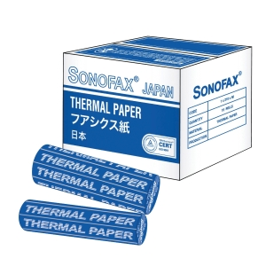SONOFAX THERMAL FAX ROLL 216MM X 30M X 0.5 INCHES FULL LENGTH