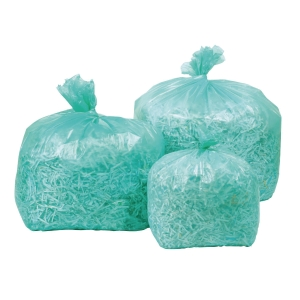 SEKOPLAS ENVIROPLUS ECO-FRIENDLY GREEN WASTE BAGS 47 x 54CM - ROLL OF 90