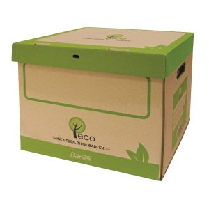 Bantex Eco Natural Archive Box  412 X 298 X 311mm