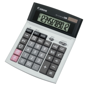CANON WS-1210 HI III DESKTOP CALCULATOR - 12 DIGITS