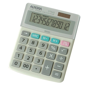 AURORA 12 DIGITS MINI DESKTOP CALCULATOR