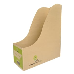 BANTEX ECO PAPER MAGAZINE HOLDER 12CM - PACK OF 5