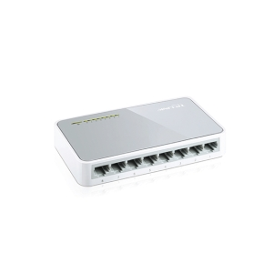 TP-LINK SF-1008D WHITE 8-PORT DESKTOP SWITCH