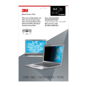3M PF14.0W0 PRIVACY BLACK SCREEN FILTERS FOR LAPTOPS & LCD 16:9 14.0   W9