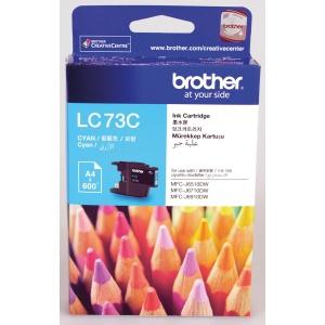 Brother LC-73C Inkjet Cartridge - Cyan