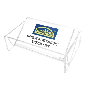 SUREMARK 1-TIER TRANSPARENT CARD HOLDER