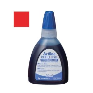 Artline Whiteboard Marker Refill Ink 60ml Red