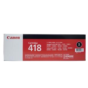 CANON 418 ORIGINAL LASER CARTRIDGE - BLACK