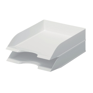DURABLE WHITE 2 COMPARTIMENT LETTER TRAY FOR A4