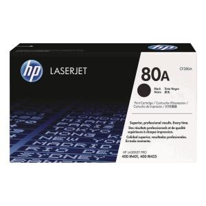 HP CF280A LaserJet Toner Cartridge Pro (80A) - Black