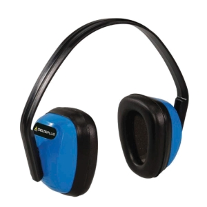 DELTA PLUS BASIC BLACK/BLUE EAR DEFENDERS