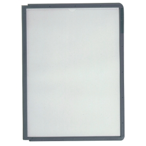 Durable Sherpa Grey Frame Panels For Display Unit - Pack of 10