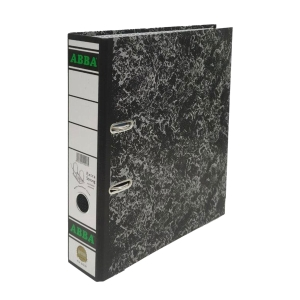 ABBA Cardboard Lever Arch A4 File Gold 7cm